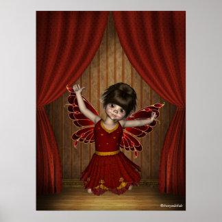 Poster de hadas Elfin de Keldie