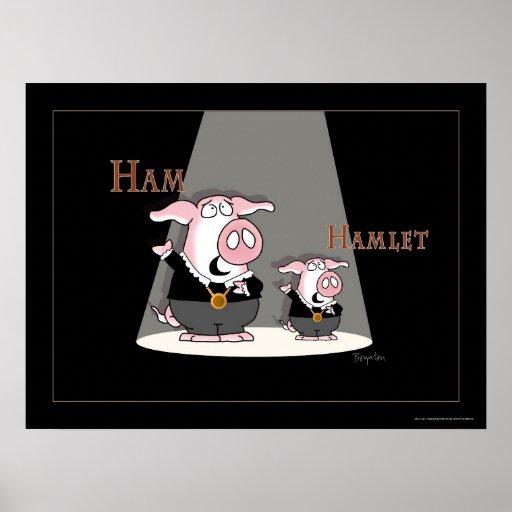 Poster de HAM/HAMLET de Sandra Boynton