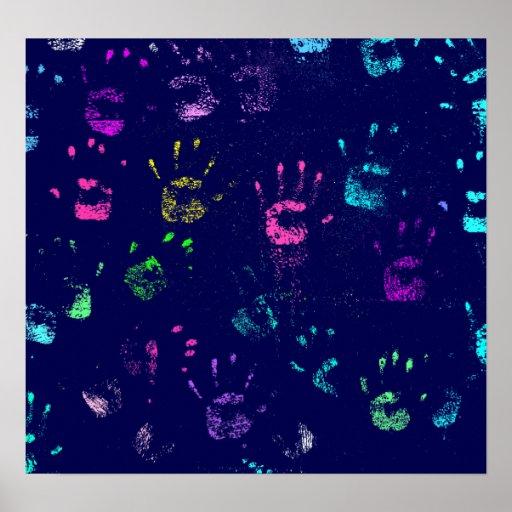 Poster de Handprints