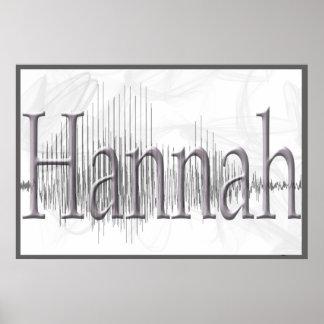 Poster de Hannah Sononome
