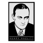 Poster de Henry Hazlitt