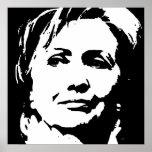 Poster de Hillary Clinton