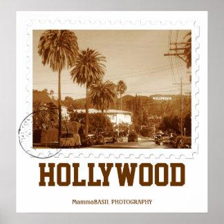 ¡Poster de Hollywood del estilo del vintage! Póster