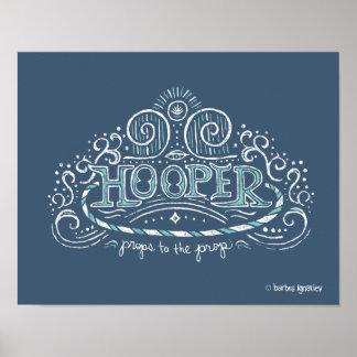 Poster de Hooper 11x14