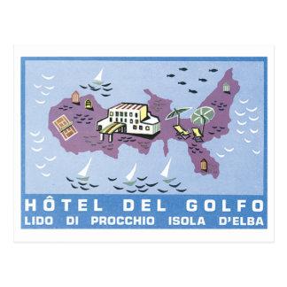 Poster de Hotel Del Golfo Travel Postales