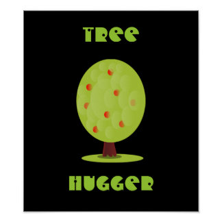 Poster de Hugger del árbol
