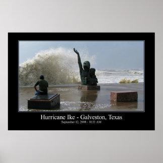 Poster de Ike del huracán