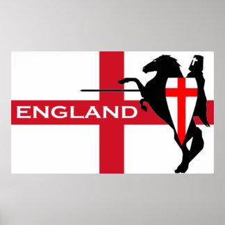 Poster de Inglaterra del día de San Jorge