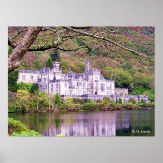 Poster de Irlanda de la abadía de Kylemore