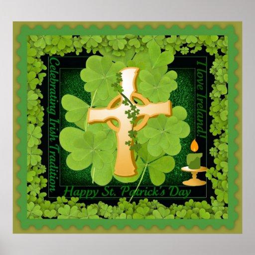 Poster de Irlanda del amor del día I de St Patrick
