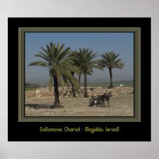 Poster de Israel del viaje