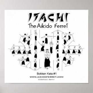 Poster de Itachi Bokken KATA #1