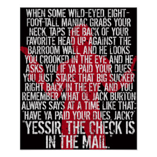 Poster de Jack Burton