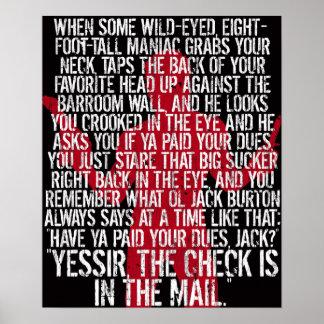 Poster de Jack Burton Póster