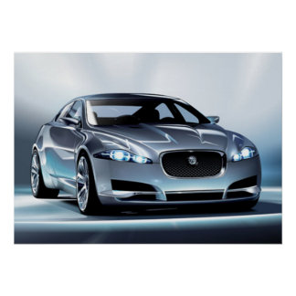 Poster de Jaguar C-XF