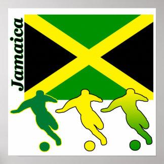 Poster de Jamaica del fútbol