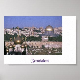 Poster de Jerusalén