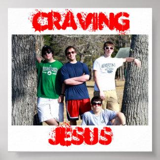 Poster de Jesús que anhela