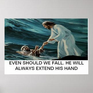 Poster de Jesús y de Peter Póster