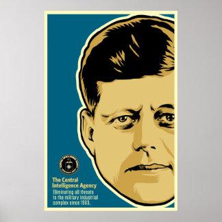 Poster de JFK Cia