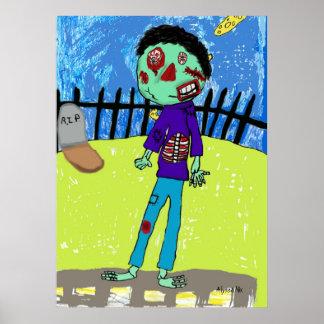 Poster de Jim del zombi