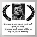 Poster de John F. Kennedy