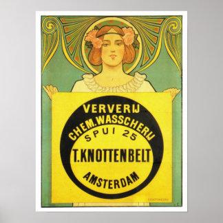 Poster de Juan Jorge van Caspel Art Nouveau