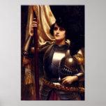 Poster de Juana de Arco del santo