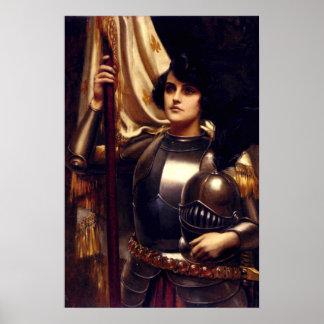 Poster de Juana de Arco del santo Póster