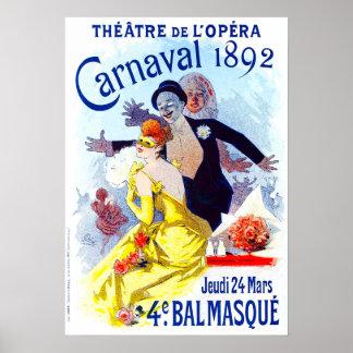 Poster de Julio Cheret Carnaval Póster