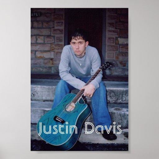 Poster de Justin Davis