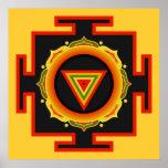 Poster de Kali Yantra