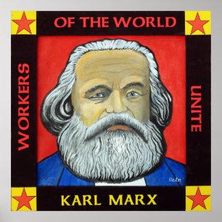 Poster de Karl Marx