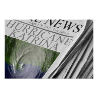 Poster de Katrina del huracán