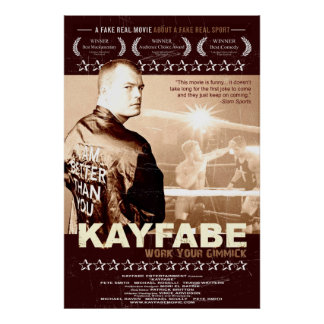 Poster de Kayfabe Póster