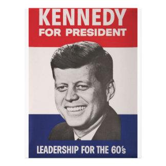 Poster de Kennedy Flyer Personalizado