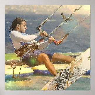 Poster de Kitesurfing