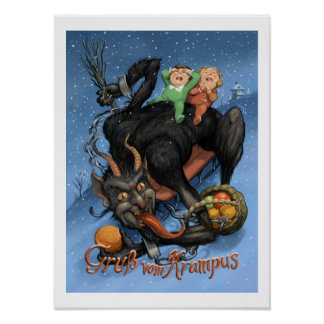 Poster de Krampus