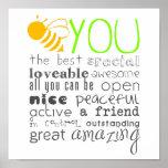 Poster de la abeja