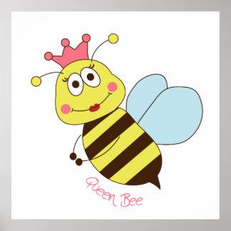 Poster de la abeja reina