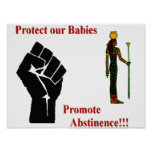 Poster de la abstinencia