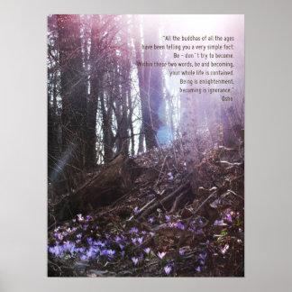 Poster de la aclaración de la cita de la sabiduría