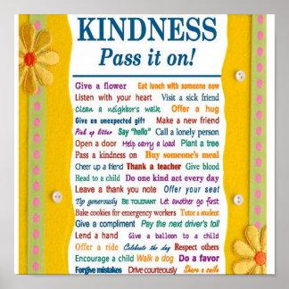 Poster de la amabilidad
