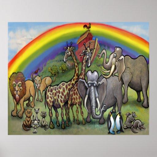 Poster de la arca de Noah