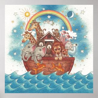 Poster de la arca de Noah Póster