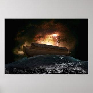 Poster de la arca de Noahs