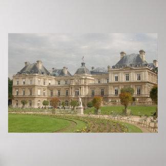 Poster de la arquitectura de París Versalles