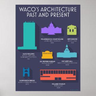 Poster de la arquitectura de Waco