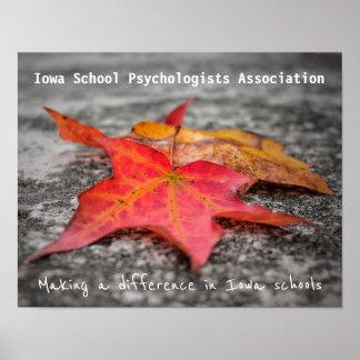 Poster de la asociación de los psicólogos de la póster