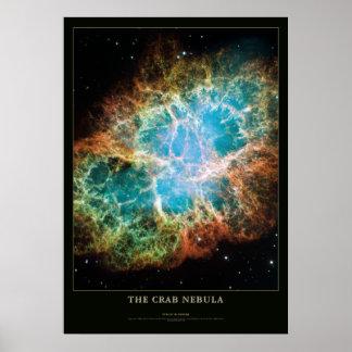 Poster de la astronomía y de la ciencia de la nebu
